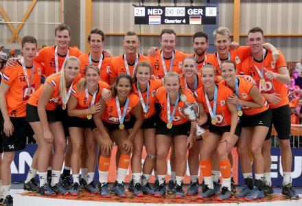 TeamNL Korfbal grijpt opnieuw Europese titel