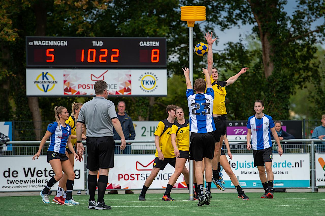 Hoofdklasse A, #2: Aankomende Korfbal Leagueploegen verspelen punten
