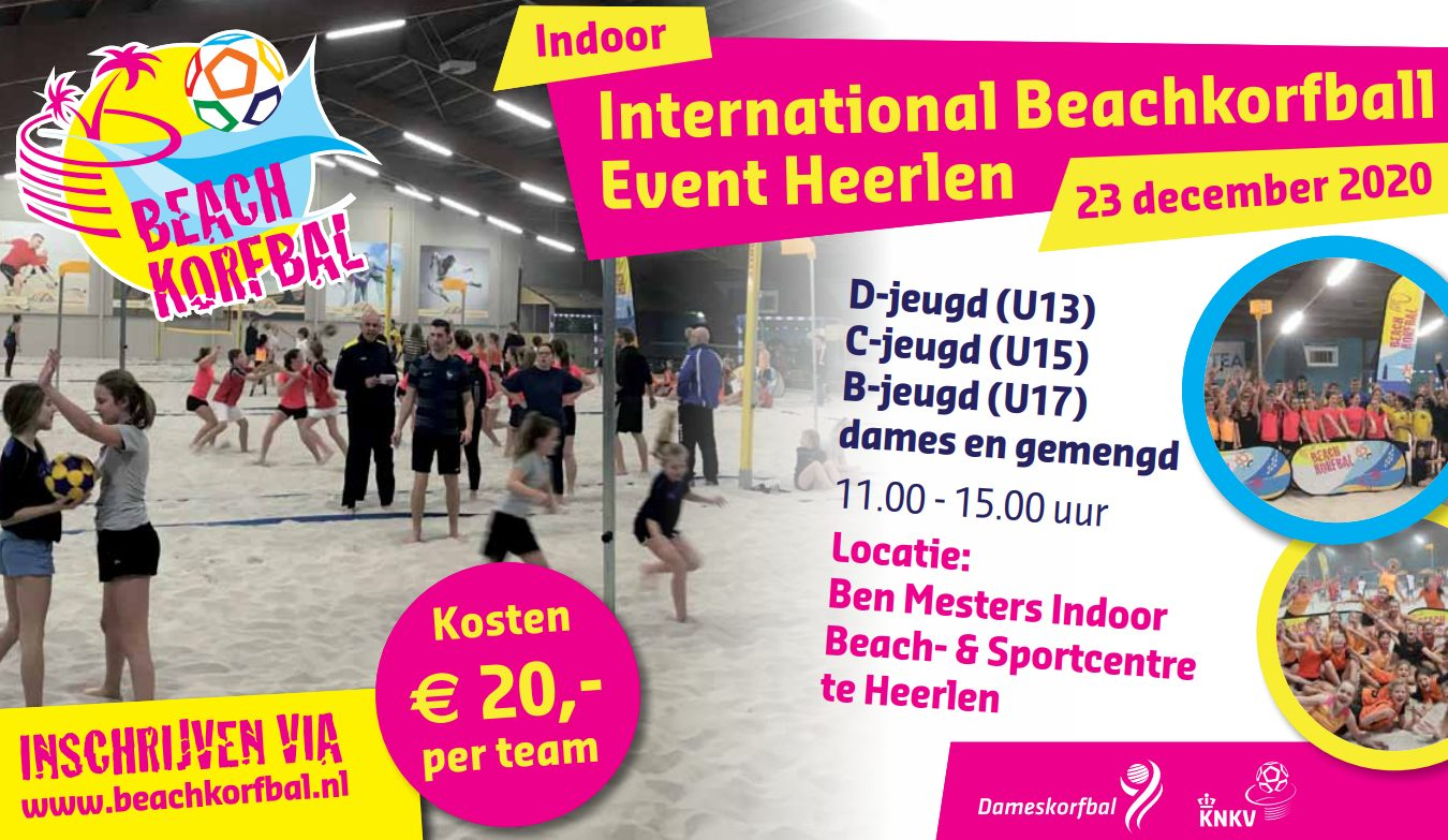 International Beachkorfball Event Heerlen