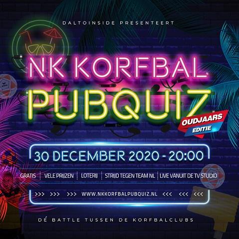 NK Korfbal Pubquiz op 30 december