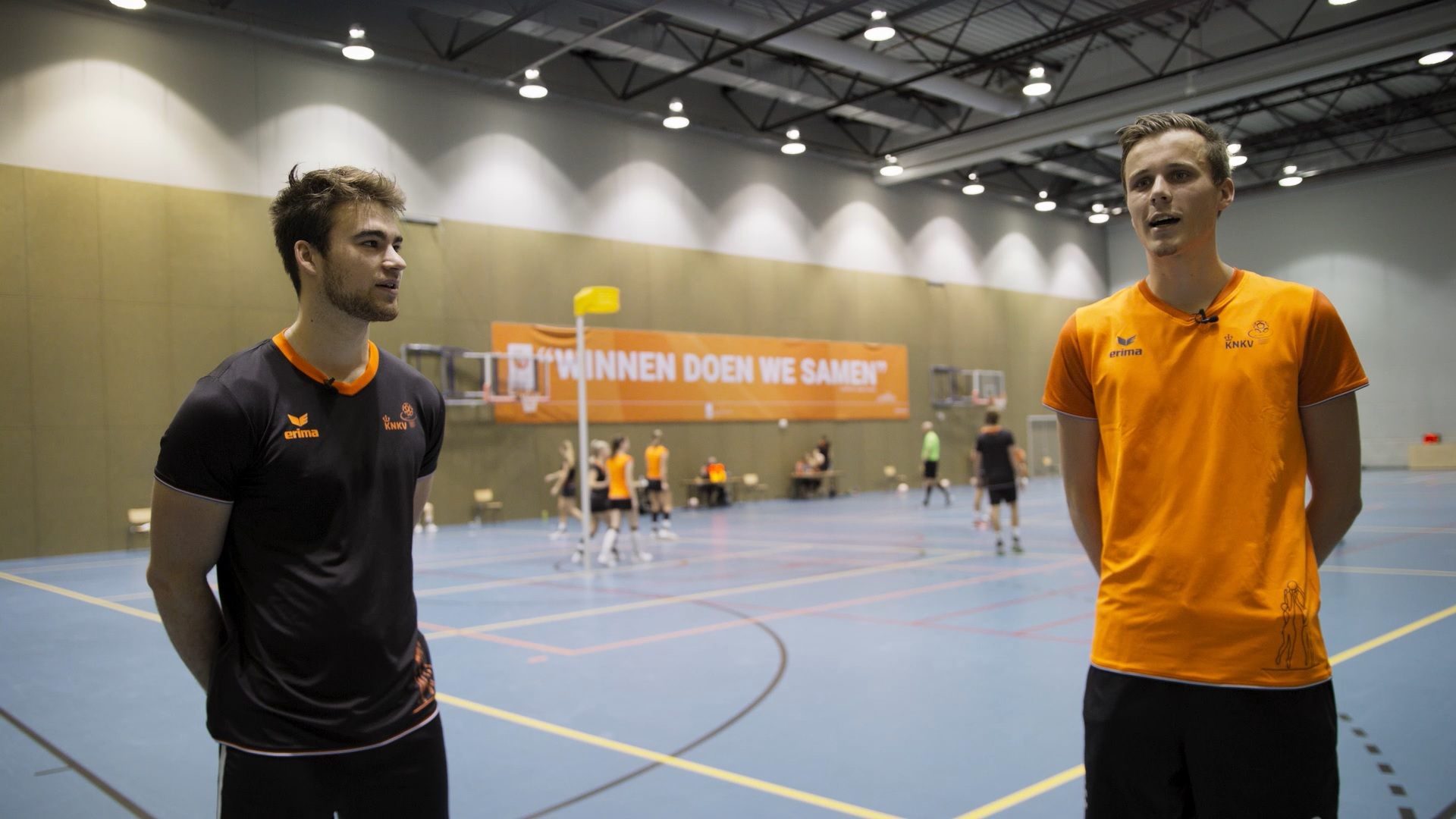 VIDEO: Griemink en Van Roekel over TeamNL Korfbal