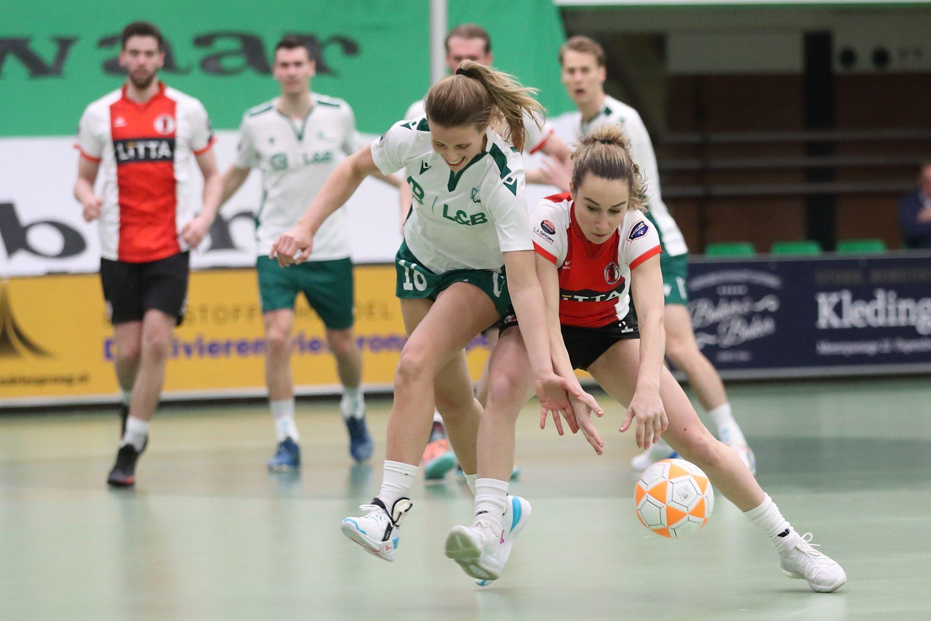 NOS: samenvatting TOP-PKC, live bij Korfbal Leaguefinale