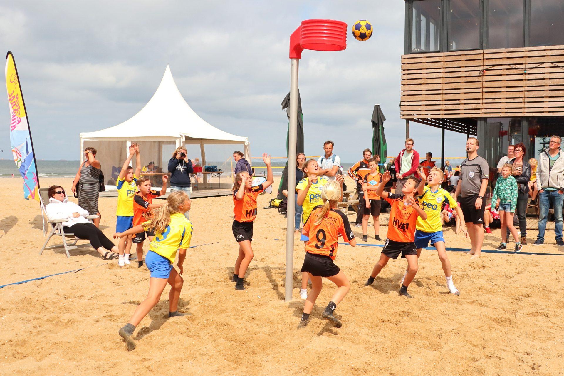 Laatste plekken voor NK Beachkorfbal Outdoor