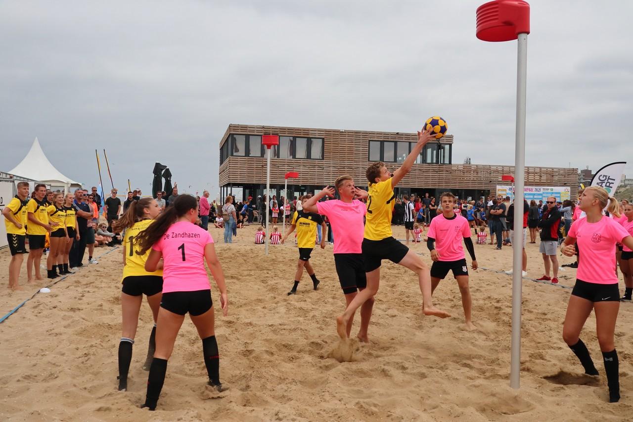 28 augustus NK Beachkorfbal Outdoor