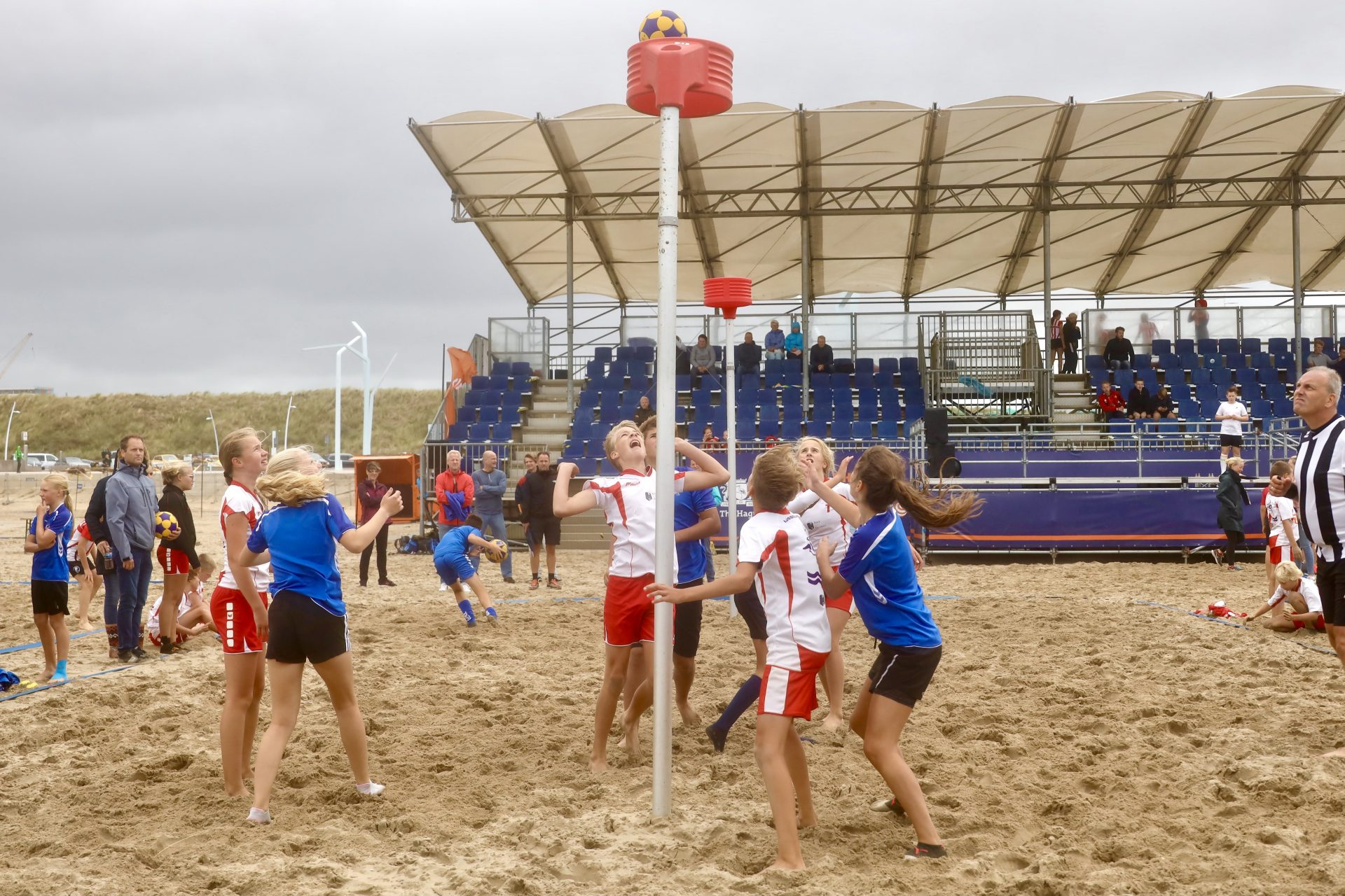 NK Beachkorfbal: nog één week om je aan te melden