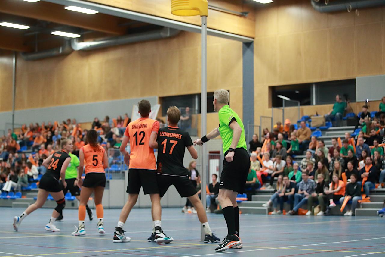 TeamNL Korfbal: spektakel in Veldhoven