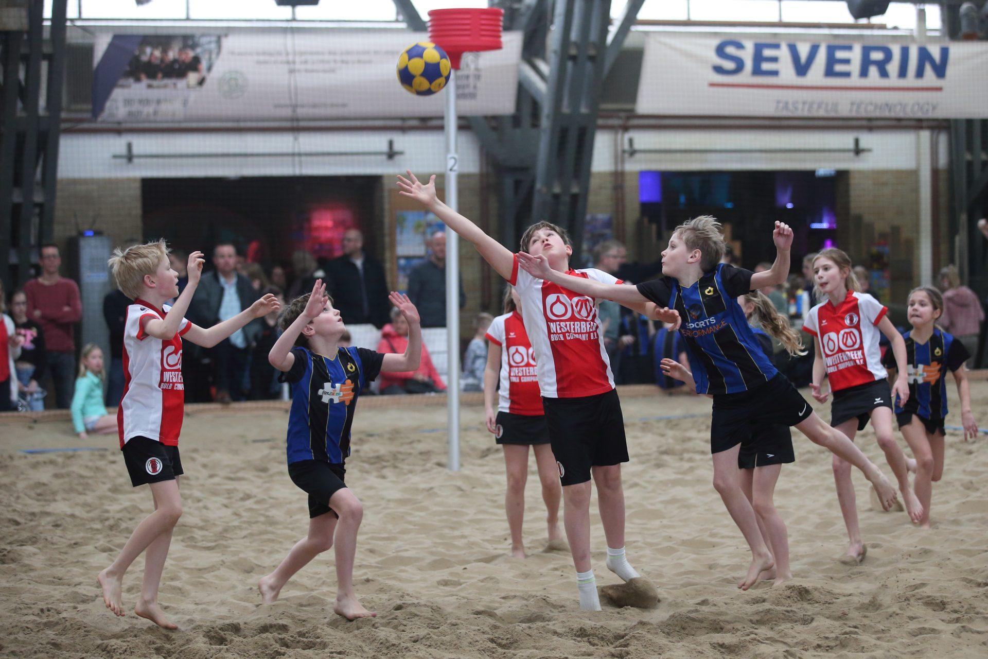 Inschrijving NK Beachkorfbal Indoor is geopend