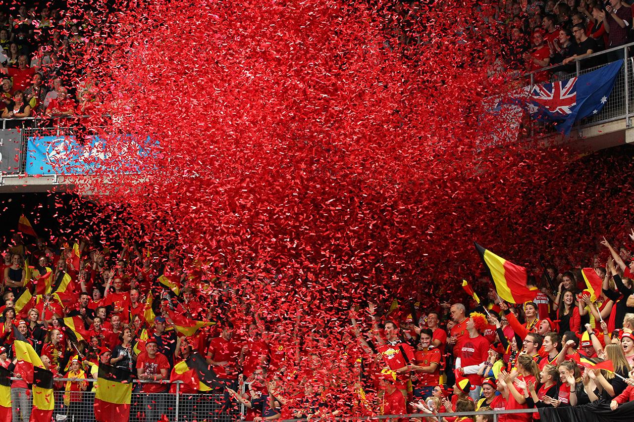 EK in Antwerpen: terug naar de Lotto Arena